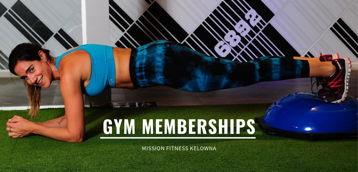 Mission Fitness Memberships